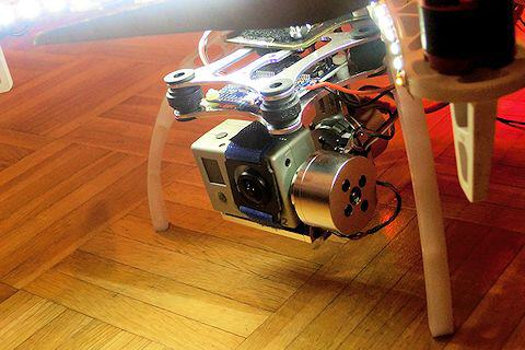 GoPro in Brushless-Gimbal